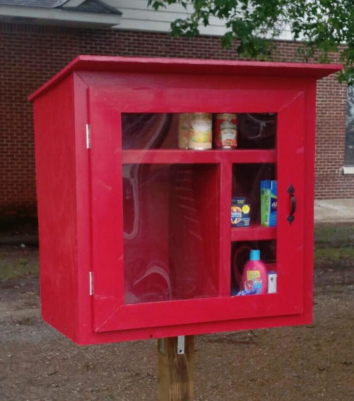 KarmaInspired Community Donations  Little Free Pantry
