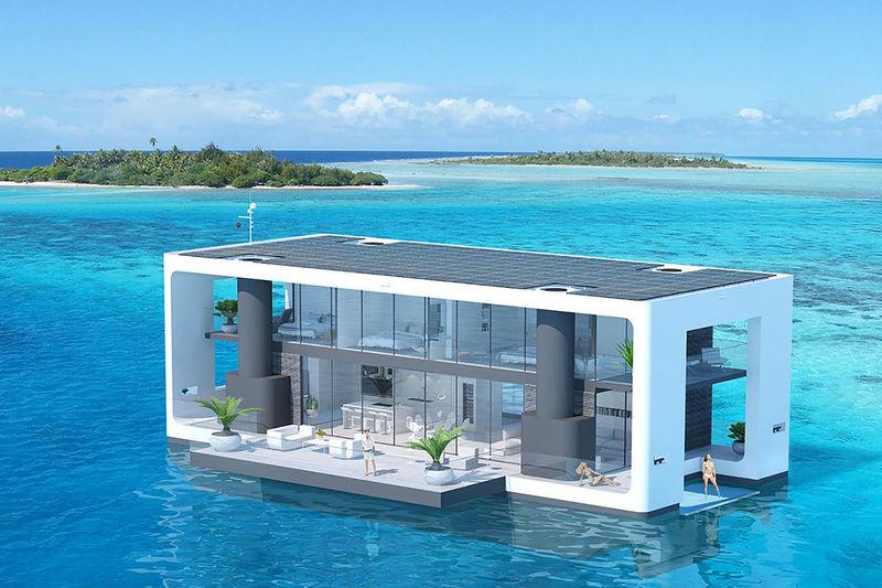Floating HurricaneResistant Homes  livable yachts