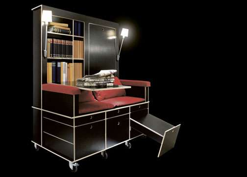 Rooms On Wheels Portable Living Room Design Serves As