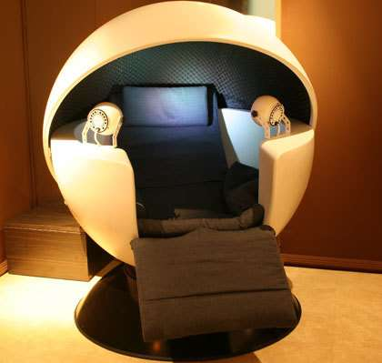 Pods Designed for Napping The COCON at the Kitud Spa