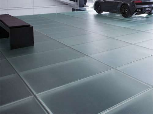 Frosted Glass Tiles  Madras Flooring