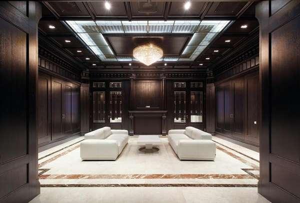 Mahogany Paneled Offices  Mahogony Makeovers by Alexey Kuzmin