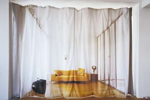 curtain ideas for living room wall panels optical illusion curtains: give the impression of a large ...