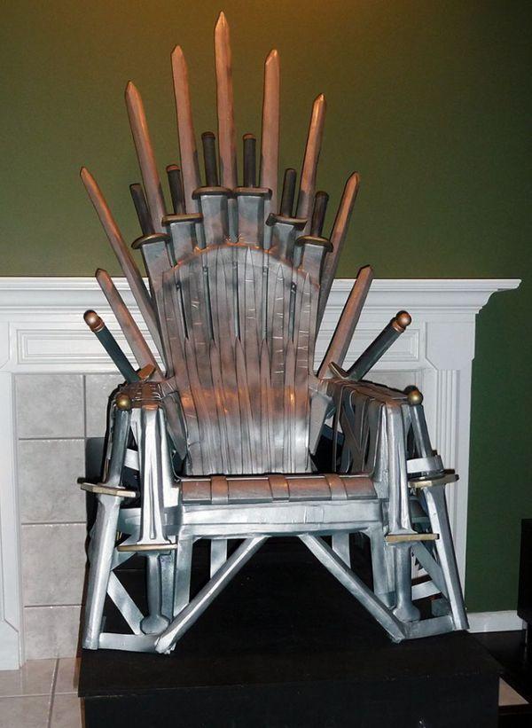 DIY Fantasy Furniture  Make Your Own Iron Throne