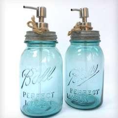 Kitchen Dish Soap Dispenser Whisk Electric Modern Mason Jar Dispensers : Jars