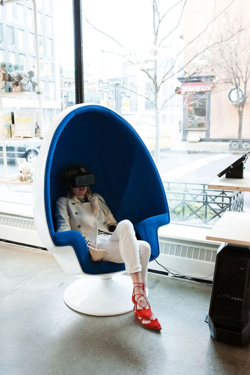 VR Relaxation Pods  mediation purposes