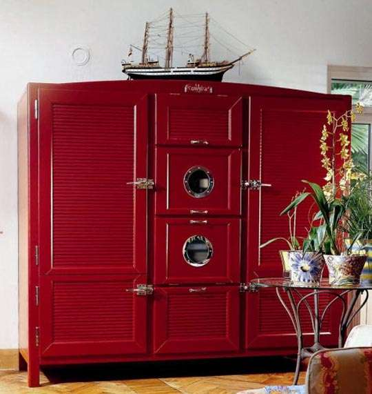 Antique Modern Fridges Luxury Italian Meneghini Refrigerator Adds Cool Flair To Your Kitchen