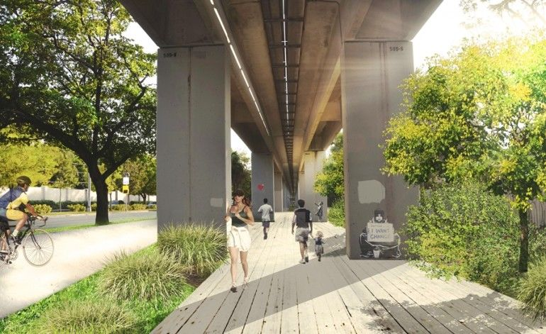 Revitalizing Urban Park Projects Metrorail