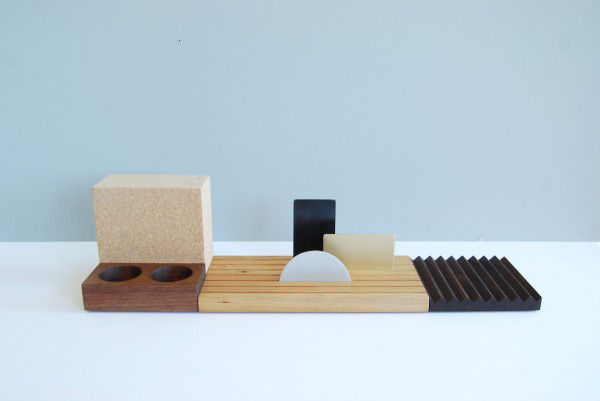 Modular Desk Accessories  minimalist desk set