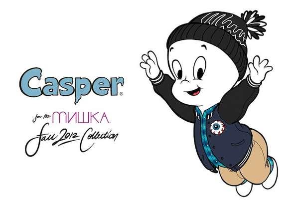 Fall Leaves Computer Wallpaper Cartoon Character Model Lookbooks Mishka Fall 2012