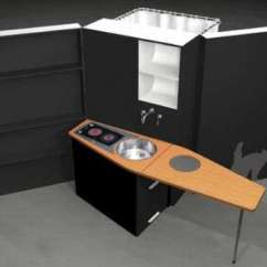 Complete Kitchen Cabinet Set Floor Cabinets Mobile All In One Kitchens And Bathrooms: The Woonbox