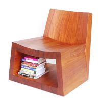 Wooden Storage Seating : Mode Lounge Chair