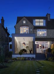 suburban modern room extension glass homes dining enclosed london contemporist created views extensions designs similar moderne trends