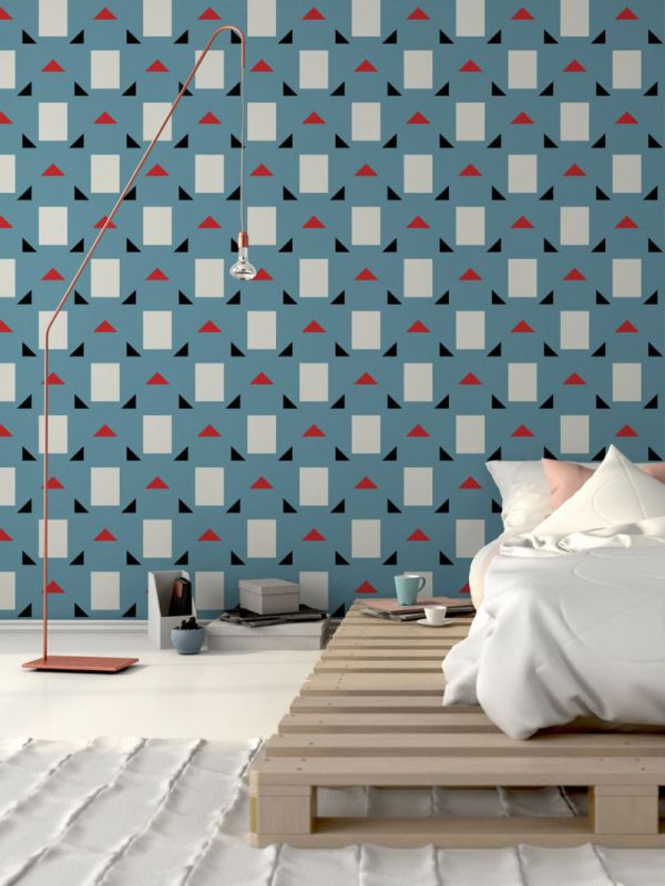 Modernist Mid-century Wallpapers Wall Coverings