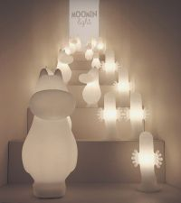 Kid-Friendly Light Fixtures : moomin light