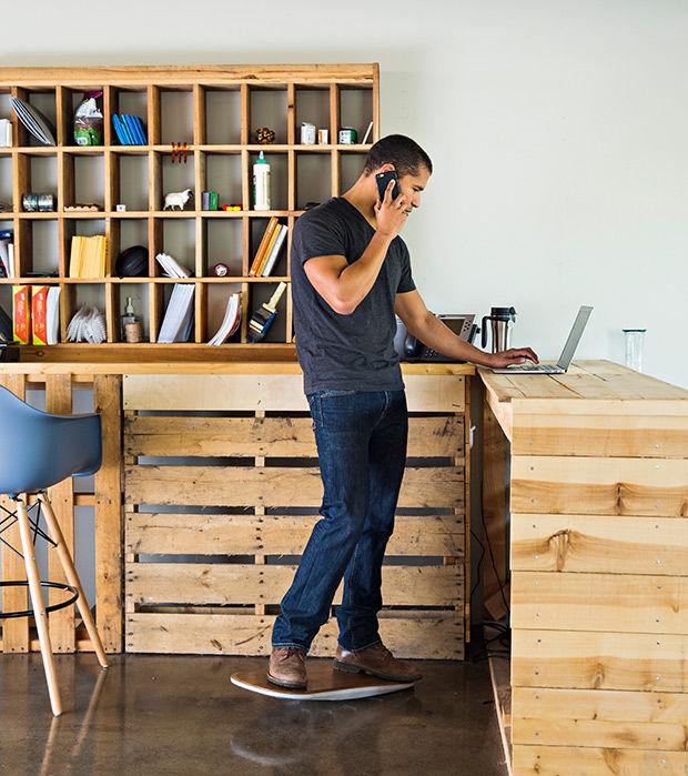 SurfLike Office Decks  movement at work