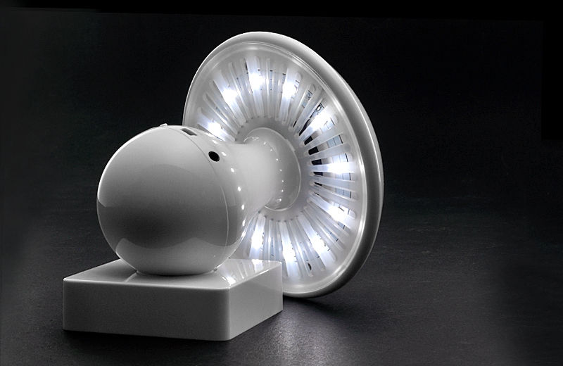 Futuristic Fungi Lighting  Mushroom LED Lamp