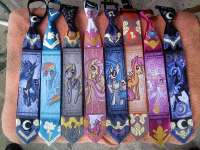 Whimsical Cartoon Pony Ties : My Little Pony Ties