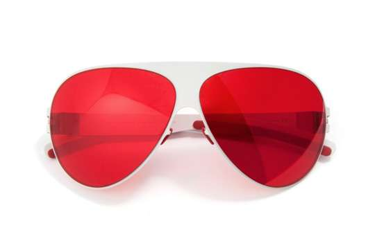 Charitable RoseColored Glasses  MYKITA for Japan Franz