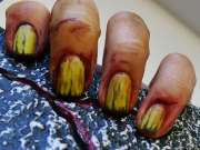 menacing undead manicures nail