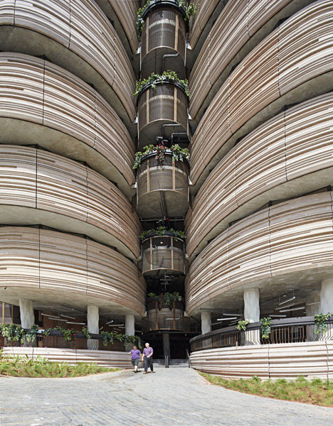 VegetableInspired Buildings  Nanyang Technological University