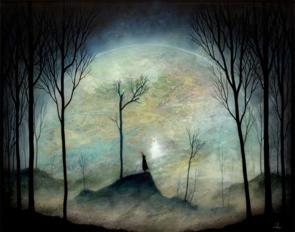 Mystical Nature Paintings nature painting