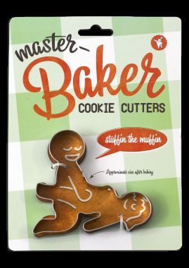 Suggestive Cookie Molds  naughty cookie cutters