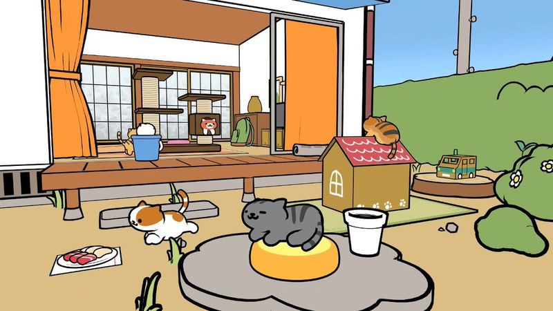 cat collecting vr games