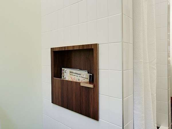 Bathroom Coffee Holders  nelson bathroom magazine rack