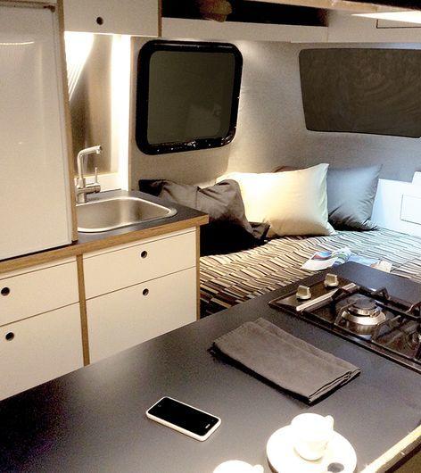 Monocoque Glamping Trailers  Nest Caravan