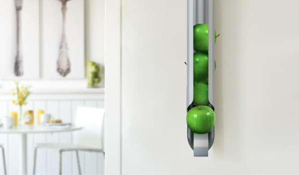 WallMounted Fruit Bowls  Newton Fruit Holder