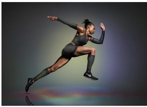 Sporty Girl Wallpaper Speed Increasing Sportswear Nike Vapor Track Amp Field