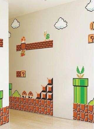 Nintendo Wall Decals Blik Surface Graphics