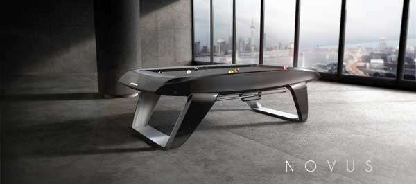 HiTech Touchscreen Billiards  Novus Pool Table