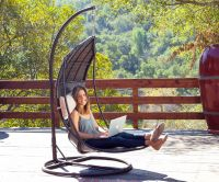 Outdoor Relaxation Furniture : outdoor hanging chair