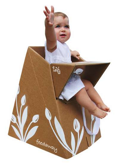 Cardboard HighChairs Paper Tiger Recycled Products by