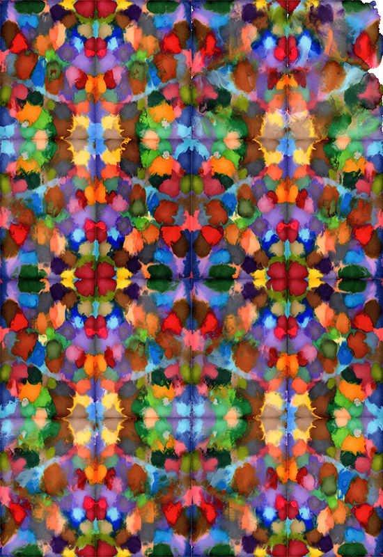 Kaleidoscopic Pen Paintings  Pen Paintings