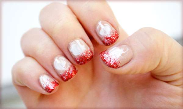 Coffee Confection Manicures : Peppermint Mocha Nails