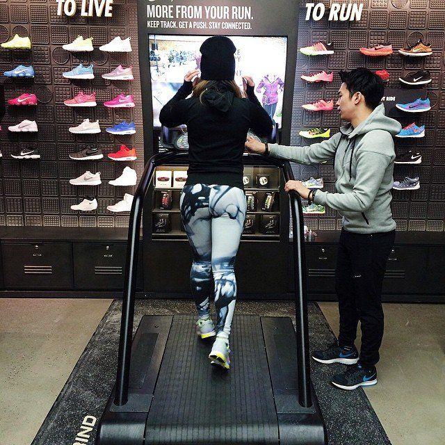 Futuristic Athletic Retailers  Personalized Nike experience