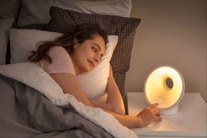 Light Therapy Alarm Clocks Philips Somneo