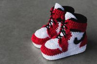 Crocheted Baby Sneakers : Picasso Babe Crocheted Sneakers