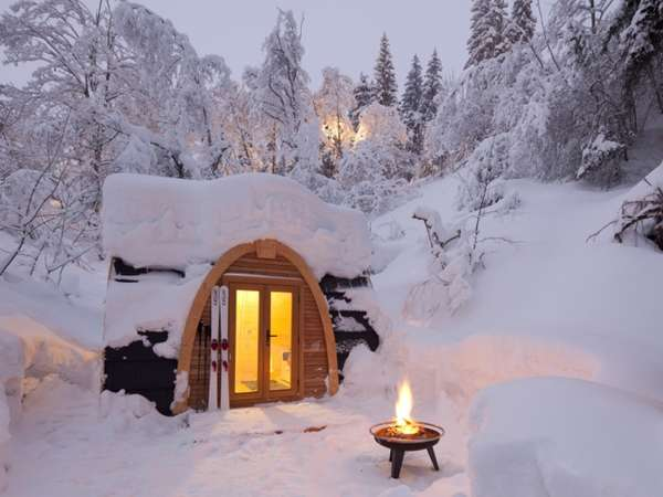 Snow Shelter Resorts The POD Hotel by Robust Outdoor