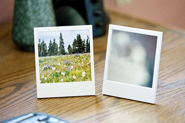 Nostalgic Picture Displays  Polaroid Picture Frame and Mirror