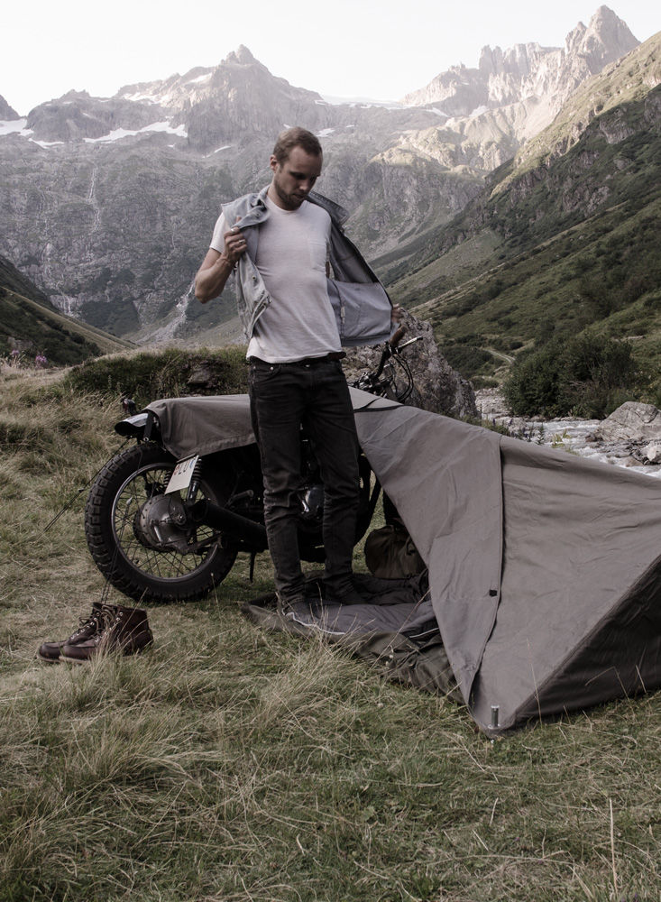 Camping Motorcycle Tents Portable Abode