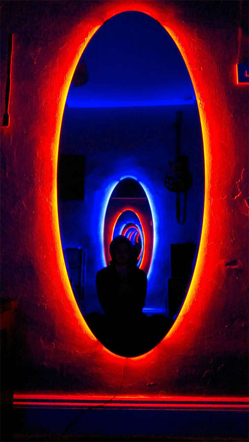 DIY Time Travel Mirrors  portal mirrors