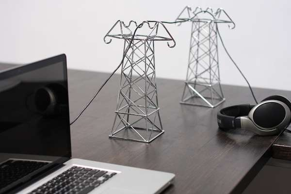 Mini Transmission Towers Daniel Ballous Power Lines