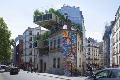 Prefabricated Parisian Apartments