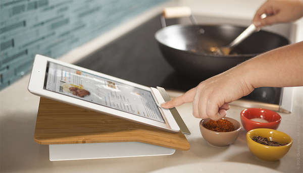 KitchenReady Tablet Docks  Prep Step iPad Stand
