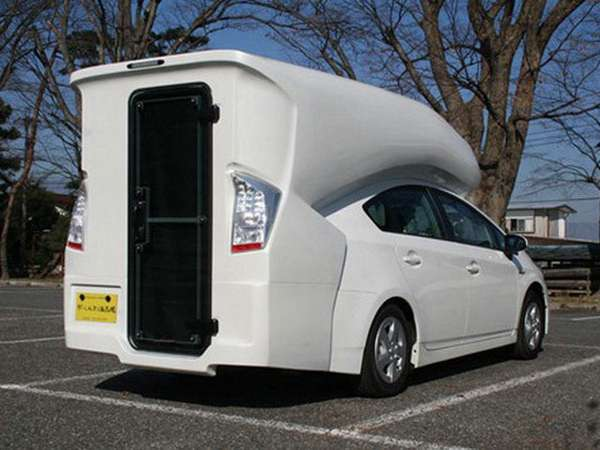 Hybrid RV Conversions  Prius camper van