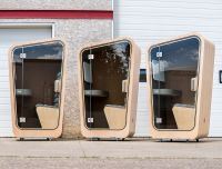 Office Space Seclusion Pods : privacy pod